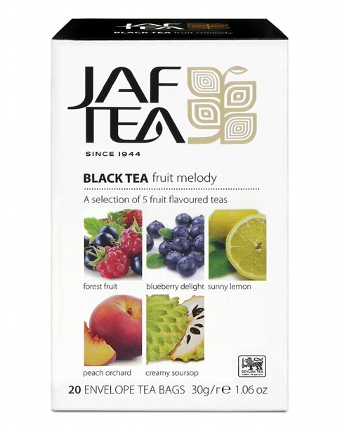 Чай черный пакет. JAF TEA Fruit Melody PC 20*1,5г